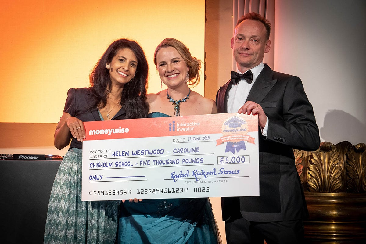 Moneywise reveals its Personal Finance Teachers of the Year 2019