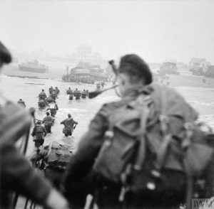 Shellfire over Sword Beach: HM Land Registry staff on D-Day, 6 June 1944