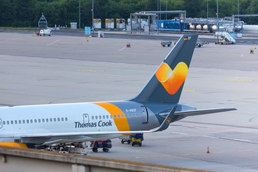 Collapse of Thomas Cook creates huge increase in shares of rival travel companies