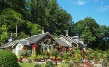 Garden space sees average property value grow